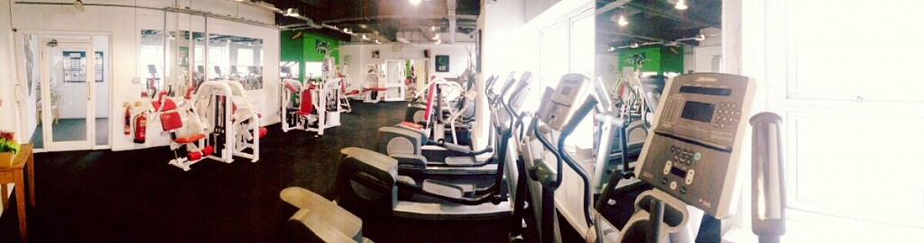 1st Floor Front Room – Cardio and Resistance Machines